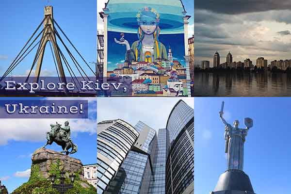 Some of Kiev's main attractions